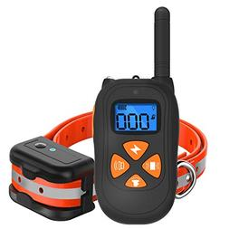 SKY-TING Dog Training Collar-1475ft Remote Dog Shock Collar,