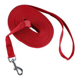 Decoroom Dog Training Lead Long Rope Cotton Nylon Webbing Re