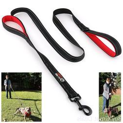 Primal Pet Gear Double Handle Dog Leash 6ft long, Heavy Duty
