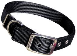 Hamilton Double Thick Nylon Deluxe Dog Collar, 1-Inch by 28-