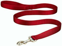Hamilton Double Thick Nylon Dog Training Lead, 1-Inch by 6-F
