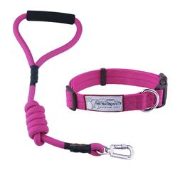 Durable Pet Dog Nylon Rope Leash + Collar / Harness + Leash