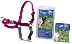 Easy Walk Harness Extra Large - Raspberry/Gray