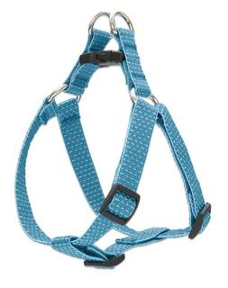 """LupinePet Eco 3/4"""" Tropical Sea 20-30"""" Step In Harness for M"""