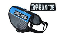 EMOTIONAL SUPPORT Service Dog mesh vest Harness Cool Comfort