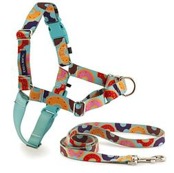 PetSafe EWH-C-HC-L-DNT Easy Walk Chic Harness, Large, Donuts