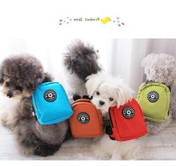 Fashionable Puppy Dog Backpack with Matching Leash Color Opt