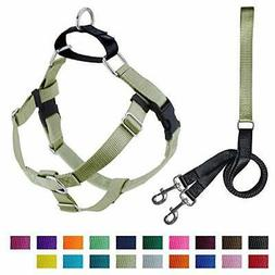 2 Hounds Design Freedom No-Pull Dog Harness with Leash, Medi