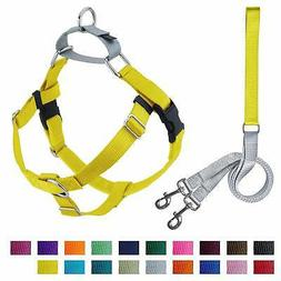 2 Hounds Design Freedom No-Pull Dog Harness with Leash, Larg