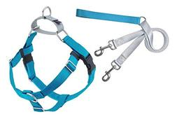 Freedom No-Pull Harness 5/8 Inch Width X-Small Turquoise Pac