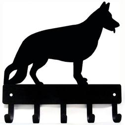 German Shepherd #1 Key Rack & Dog Leash Hanger - Small 6 inc