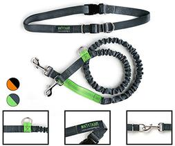 Mighty Paw Hands Free Dog Leash with Extra Length, Premium R