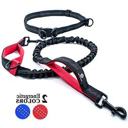 Chunky Paw Hands Free Dog Leash for Running, Walking, Joggin