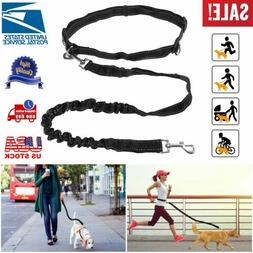 Hands Free/On Dog Leash Waist Belt Retractable Lead For Walk