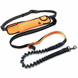 Hands-free Reflective Dog Leash for Walking Jogging Running