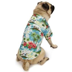 """Casual Canine Hawaiian Breeze Camp Shirt for Dogs, 12"""" Small"""