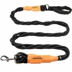 Heavy Duty Braided Bungee Pet Dog Leash with 5 Foot Durable
