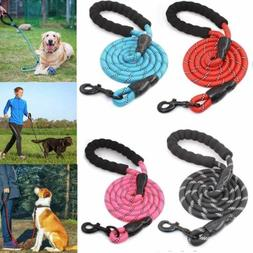 5 FT Heavy Duty Dog Leash with Comfortable Padded Handle Ref