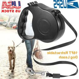 Heavy Duty Retractable Dog Leash 16ft Dogs up to 110lbs Stro