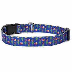 "Yellow Dog Design Hula Girls Dog Collar 3/4"" Wide and Fits N"