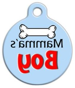 Jaws - Personalized Pet ID Tag for Dogs and Cats - Dog Tag A
