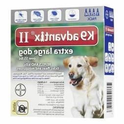 K9 Advantix II Flea Medicine Extra Large Dog 4 Month Supply
