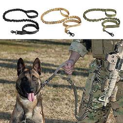 K9 Dog Leash Adjustable Control Handle Police Tactical Train
