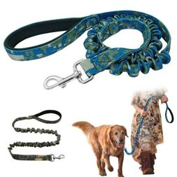 Police Bungee Dog Leash Tactical Training K9 Heavy Duty Nylo