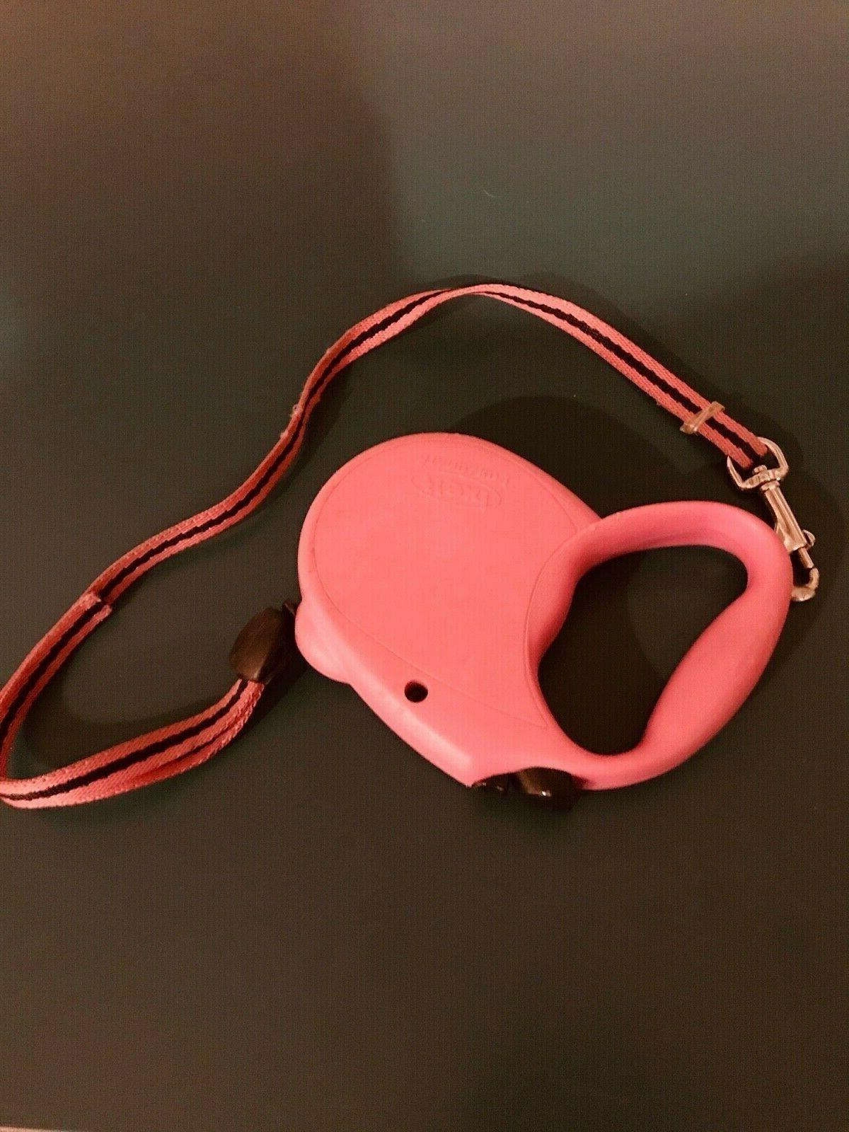 1 standard 1 retractable dog leash red