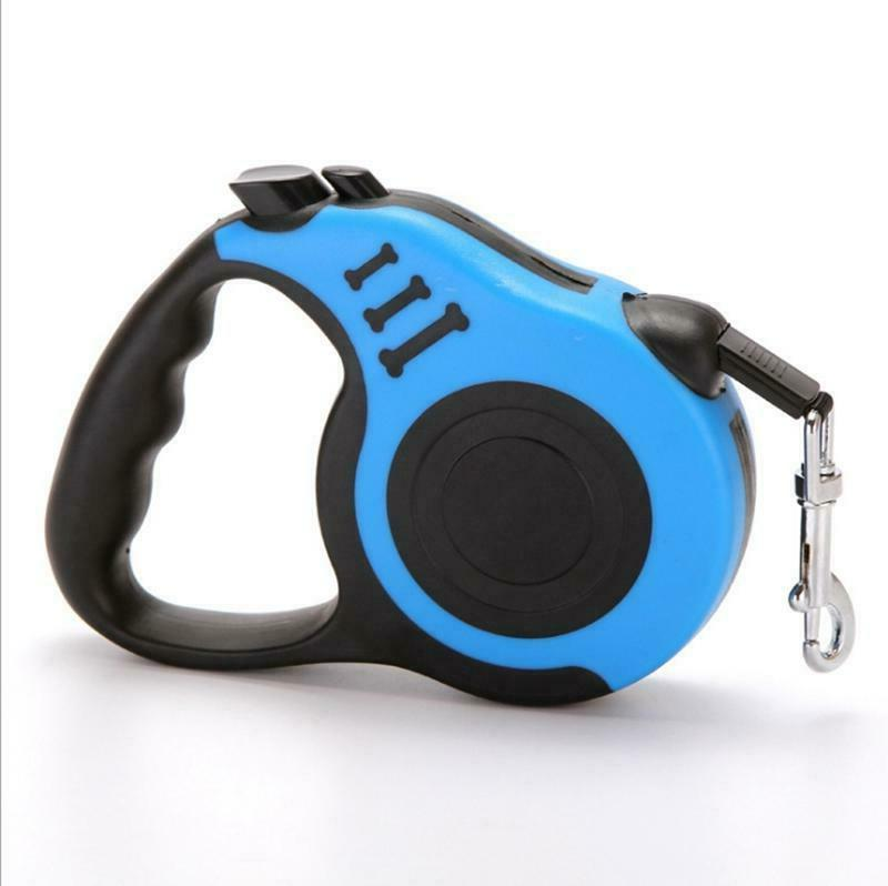 16.5ft Retractable Dog Leash Pet Walking Lead