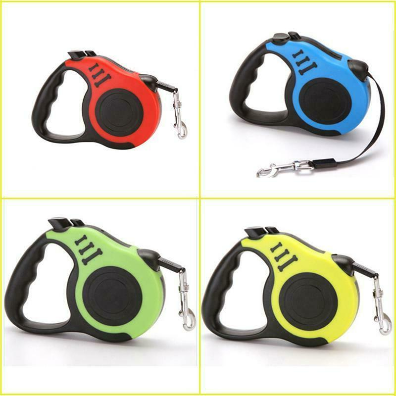 16.5ft Retractable Dog Leash Walking