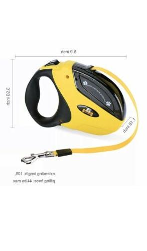 3 Retractable Walking Small Pet with Nylon Ft