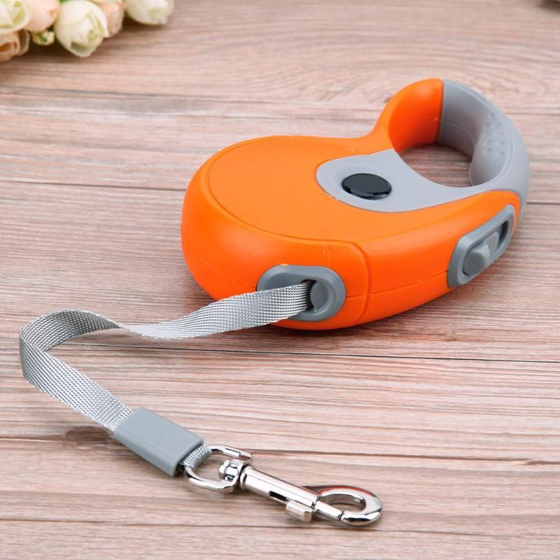 3M/5M <font><b>Retractable</b></font> Automatic Traction Pets Collars for Dropshipping