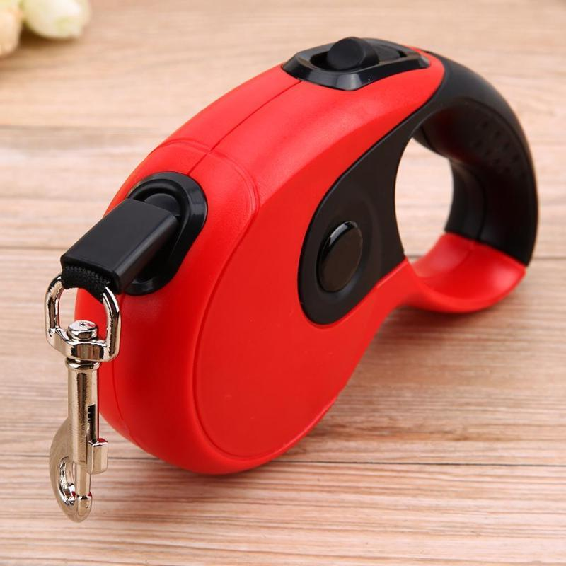 3M/5M <font><b>Retractable</b></font> <font><b>Leashes</b></font> Automatic Pets Collars Lead for Small Dropshipping