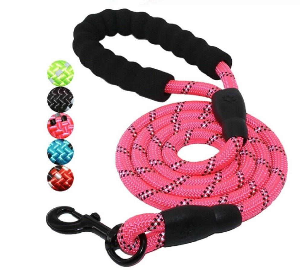 5 Rope Leash Lead Padded Puppy