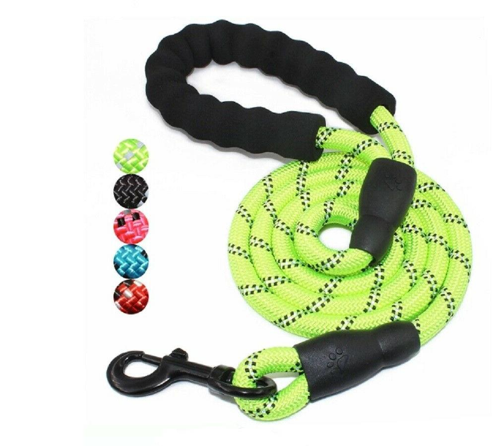 5 Rope Leash Padded Reflective Puppy