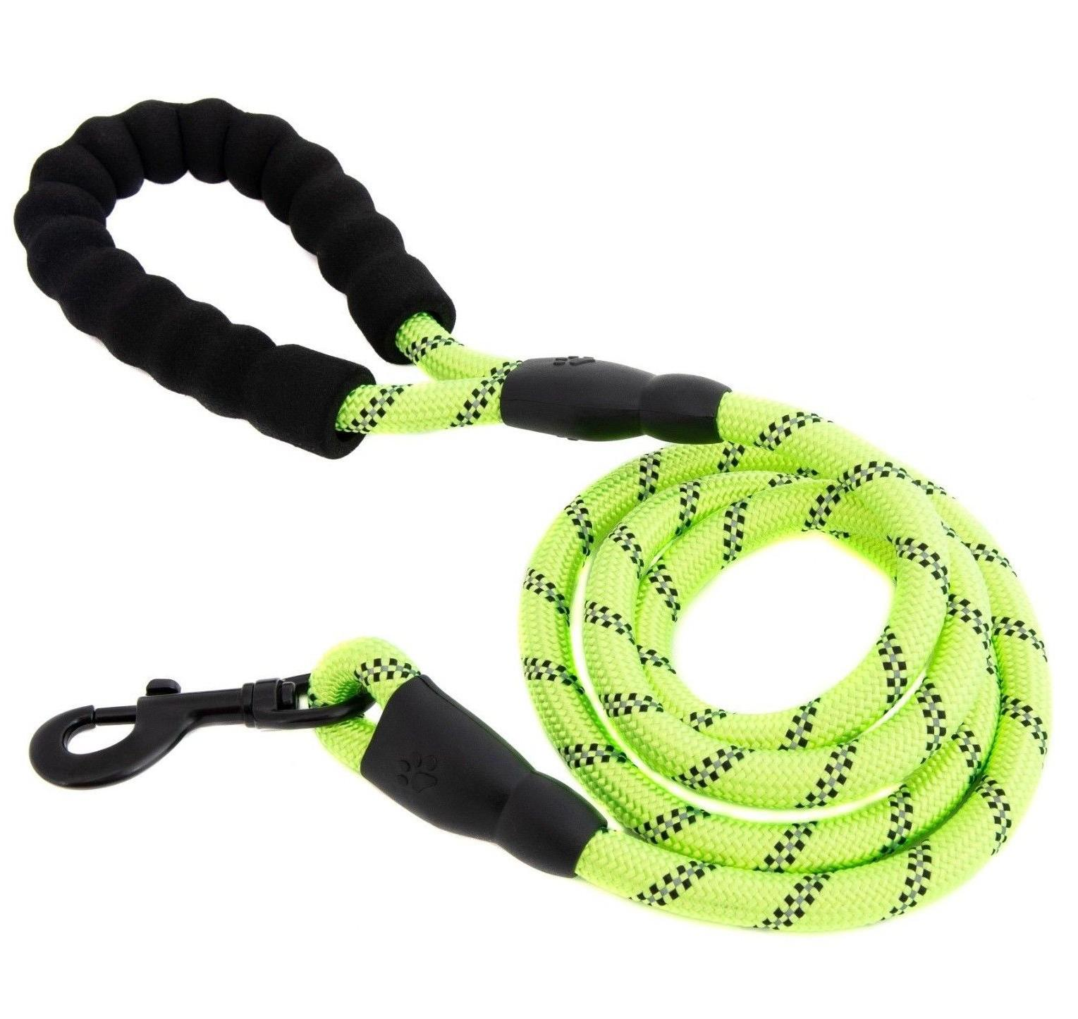 5 FT Service Rope Padded Handle Reflective Puppy L
