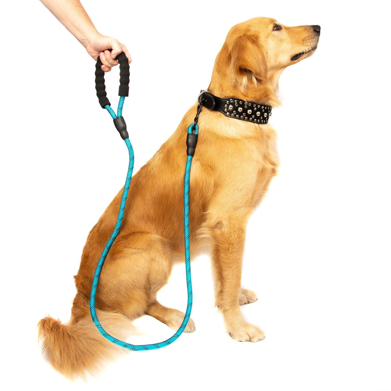 5 FT Service Dog Rope Lead Padded