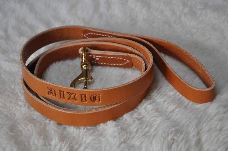 6' by Dog Leash Personalized Amish Made