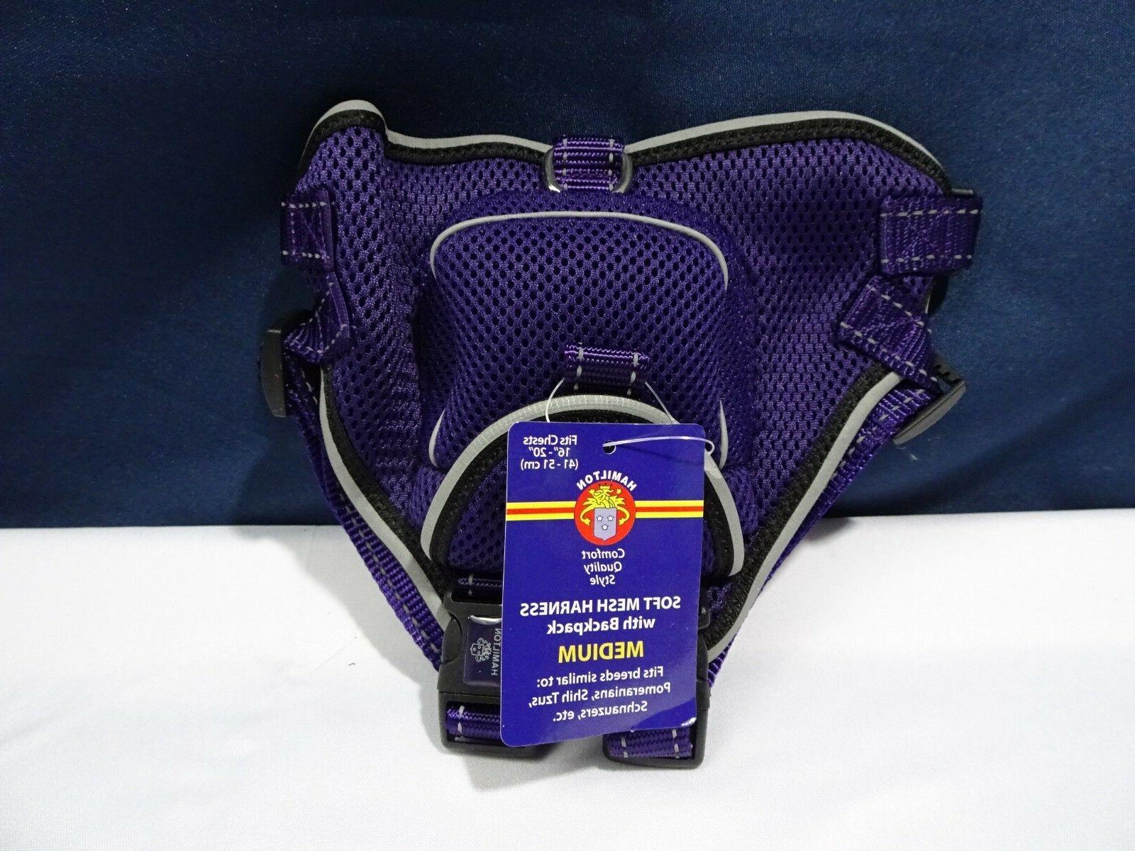 Hamilton 3/4 by 16 to 20-Inch Soft Air Mesh Adjustable Backp