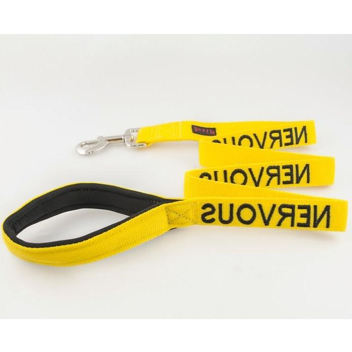Nervous Dog Standard Leash - New - Free Fast Shipping