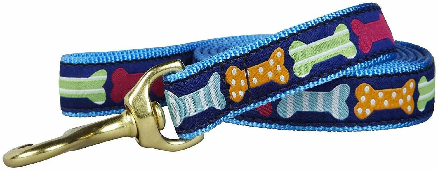 Blue Dog Nylon Adjustable Loop Slip Rope Leash Lead Training
