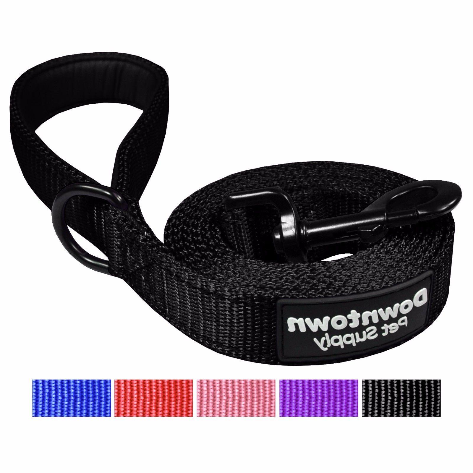 best reflective dog leash with padded handle