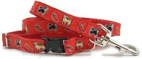chihuahua collar leash set