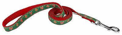 christmas memories ribbon dog leash
