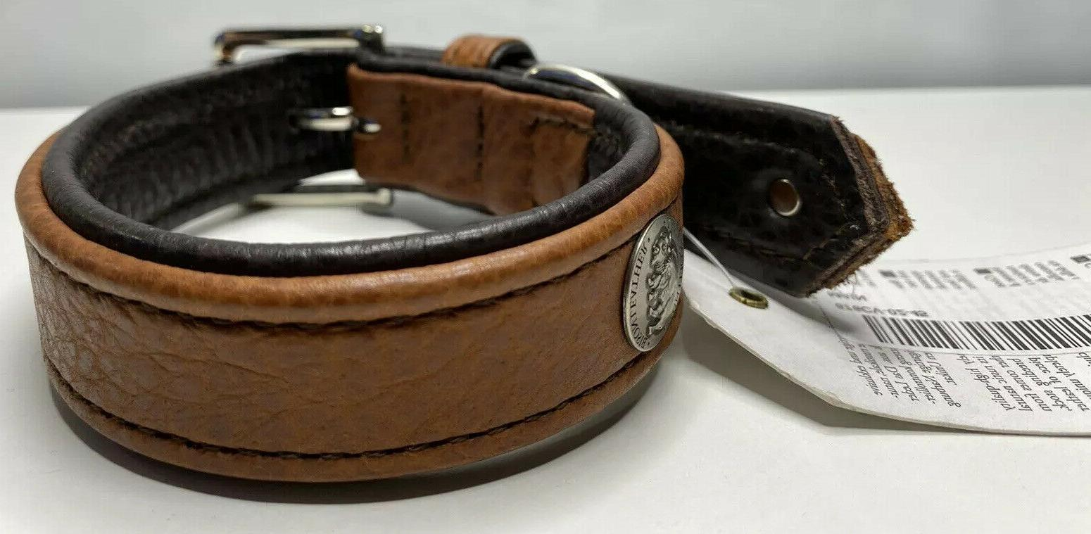 Hunter Bison Leather & Buckle Made Germany Large