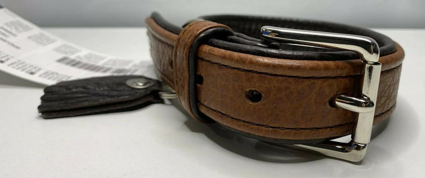 Hunter Cody Dog Bison Leather & Buckle Germany Large