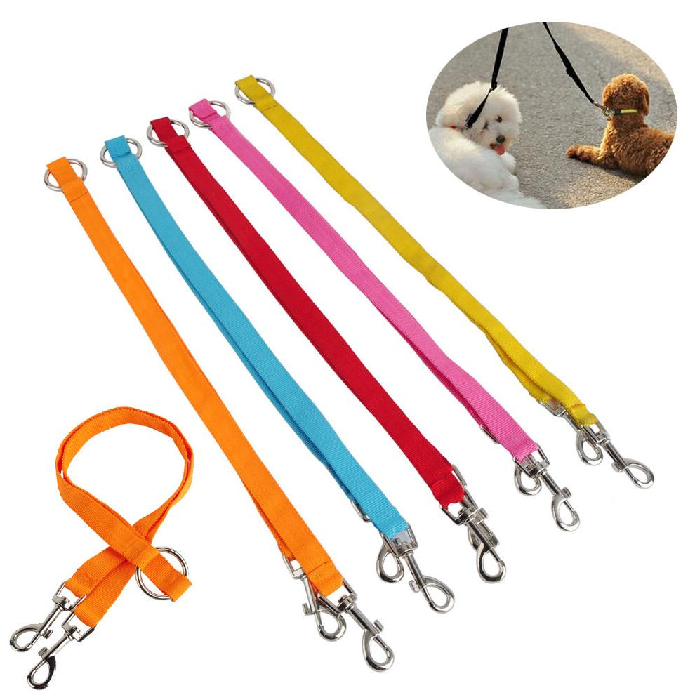Coupler Dog Leashes Lead Two Pet Dogs Leash
