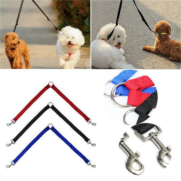 coupler double head collars dog leashes lead