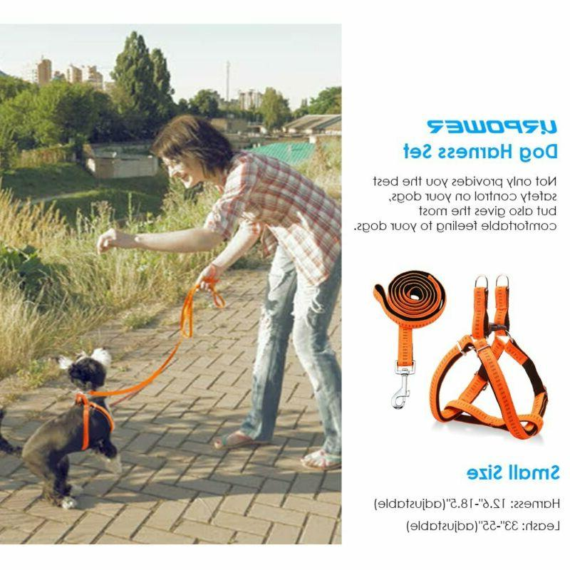 Urpower Harness Durable Dog Leash Adjustable Anti-Tw